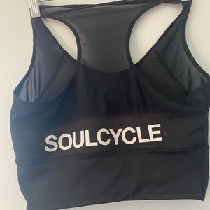 SoulCycle crop top sports bra